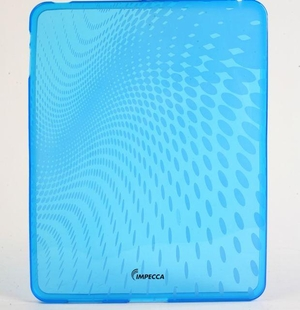 Wave Pattern Flexible TPU Protective Skin for iPad