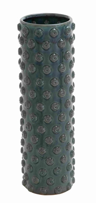 Intricate Design & Easy to Install Ceramic Crackled Vase - 71787 by Benzara