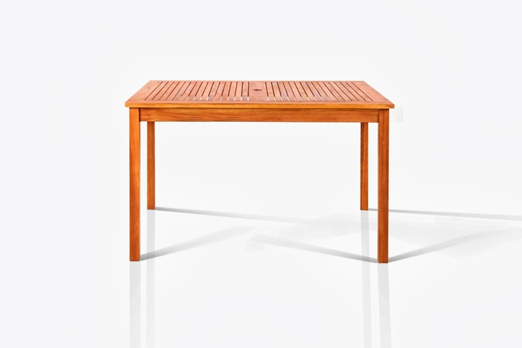 Buy well rect table 35 x47 by vifah for Wild orchid furniture