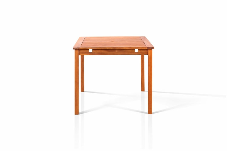 Buy well square table 47 x47 by vifah for Table 52 naples