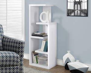 "White 48""H Accent Display Unit"