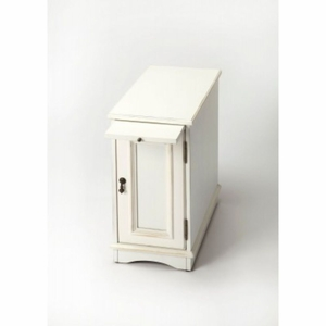 Butler White Chairside Chest