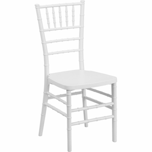 White Chiavari Chair White - LE-WHITE-GG by Flash Furniture