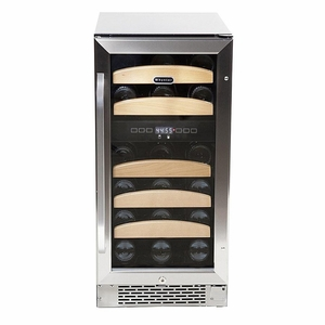 Whynter 28 bottle Dual Temperature Zone Built-In Wine Refrigerator
