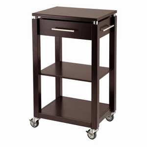 Winsome Wood Wonderful & Modern Linea Kitchen Cart