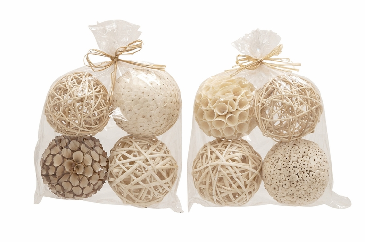 Buy wonderful natural decorative ball assorted by