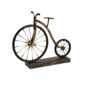 Wonderfully Crafted Big Wheel Bicycle Statuary by IMAX