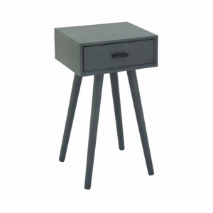 """Wood Accent Table 16""""W, 28""""H by Benzara"""