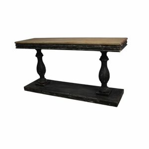"Wood Console Table 59""W, 31""H by Benzara"