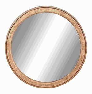 Mirror in Matte Polished with Dull Cream Finish - 50930 by Benzara