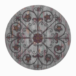 wall decor Timeless and Elegant Design in Round Shape - 50919 by Benzara