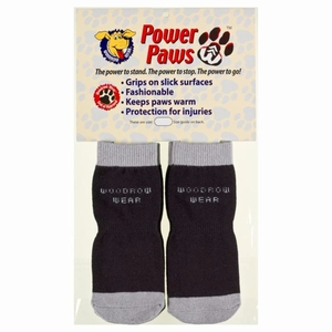 Woodrow Wear Power Paws Advanced Extra Extra Large Black / Grey