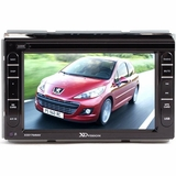 "XO Vision 7"" DDIN Touch Screen Receiver with Built-in Navigation"