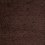 Zafirah Contemporary Area Rug, Solid Chocolate