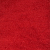 Zafirah Contemporary Area Rug, Solid Red