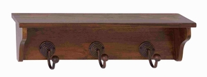 Zamibia Wood Metal Wall Hook Brand Benzara - 92619 by Benzara