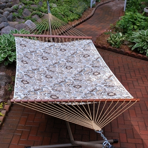 ALG-2790W158158  Zoe Stone 11' Reversible Quilted Hammock by Algoma