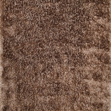 Zulema Contemporary Area Shag Rug, Champagne