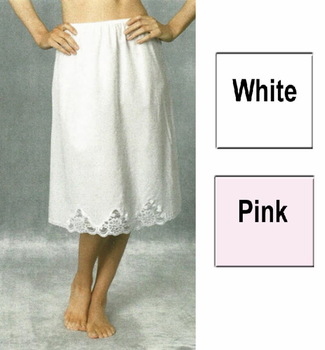 100% Light Cotton Half Slip