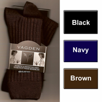 65% Merino Wool Crew Dress Sock per 2 pairs