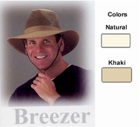 Aussie Breezer Hat in six sizes Made in USA