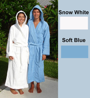 Hooded Cotton Terrycloth Spa Robe