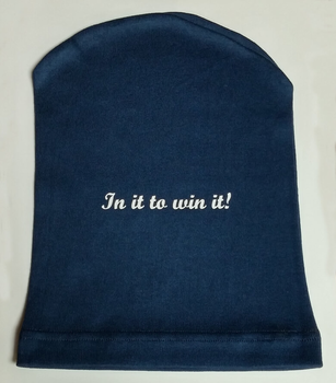 In it to win it! 100% Cotton Cancer Cap