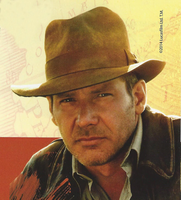Indiana Jones Weathered Cotton Fedora