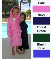 Kids Hooded Cotton Cover-up