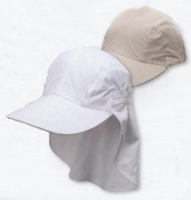 Mens Removable Flap Baseball Cap Bill 3.5 Inches