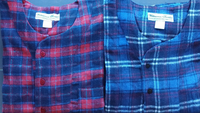 Mens Heavy Weight 100% Cotton Flannel Nightshirts