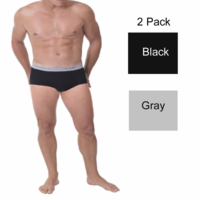 2 Pack Munsingwear Mens Full Rise Pouch Brief in colors