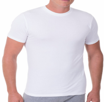2 Pack Munsingwear Crew-Neck Undershirts Big Man