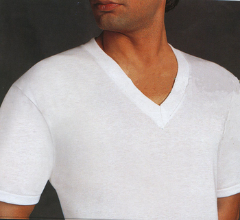 2 Pack Munsingwear V-Neck Undershirts Big Man