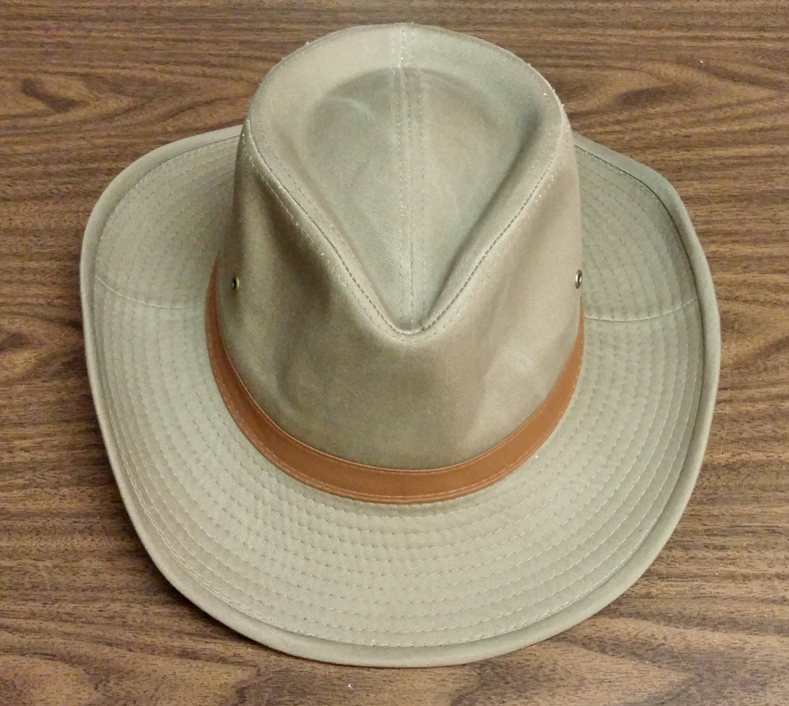 Mens Outback Cotton Hat 4d261aa8698