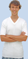 1 Pack V-Neck Cotton Undershirts