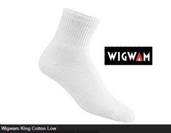 Wigwam King Cotton Low Cut