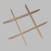 Bamboo Steam Rack (Tic Tac Toe)