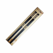 Black poly carbafil (glass fiber-polymers) chopsticks