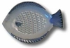 blue fish grater