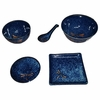 Cobalt Blue Dragonfly Dishes