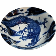 Dragon Pattern Noodle/Pho Bowl