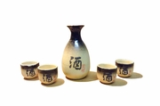 Earth Tone Sake Set