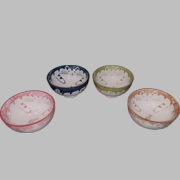 Fat Cat Rice Bowls (4 Pieces Set)