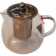 Glass Tea Pot with Stainless Steel Infuser (32 oz.)