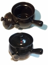 Herbal Black Ceramic Pot
