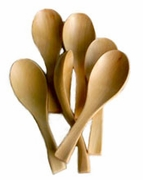 kawa wood soup spoons