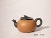 Persimmons Yi Xing Clay Tea Pot w/frog lid handle