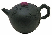 plum flower tea pot
