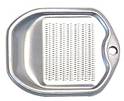 sm alum. grater w/tray